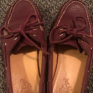 Sperry topsiders gold cup collection size 7.5